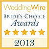 wedding wire bride's choice awards 2013