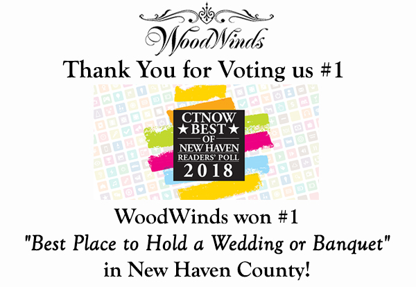 woodwinds won best place to hold a wedding or banquet