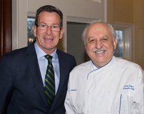 Malloy and Chef Silvio