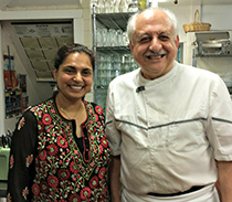 maneet chauchan and chef silvio