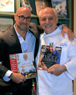 Chef Silvio and Stanley Tucci